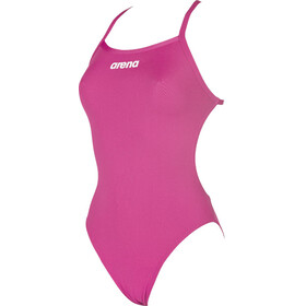 arena Solid Lighttech High Swimsuit Women pink